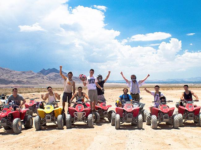 Nellis Dunes All Terrain Vehicle (ATV) Adventure north of Las Vegas